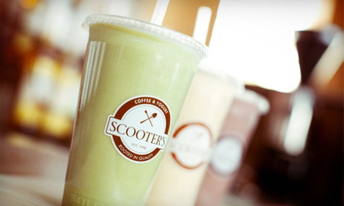 Scooter's Coffee & Yogurt - Garden Ranch: $10 for $20 Gift Card for Coffee, Pastries, Yogurt, and More at Scooter's Coffee & Yogurt