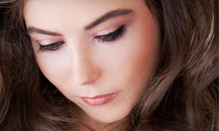 Purple Zebra Salon - Canyon: Permanent Eyeliner for Upper Lid, Lower Lid, or Both, or Permanent Eyebrow Fill at Purple Zebra Salon (Up to 67% Off)