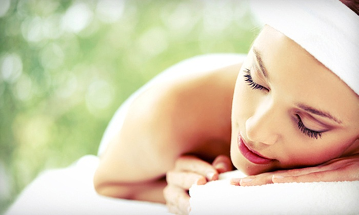 A Touch of Heaven - Gainesville: Spa Package with Massage, Facial, Shellac Manicure and Optional Microdermabrasion at A Touch of Heaven (Up to 51% Off)