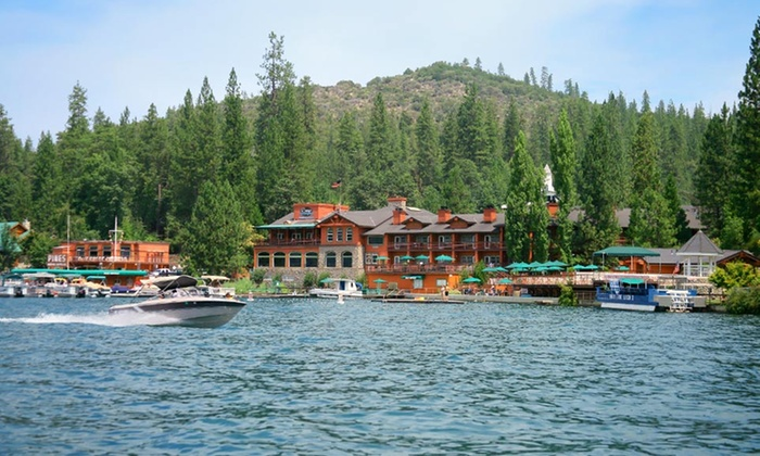 The Pines Resort - Bass Lake, California: 1-, 2-, or 3-Night Stay with Dinner Credit at The Pines Resortnear Yosemite National Park