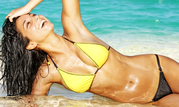 Tan Republic - Multiple Locations: One-Month Silver or Gold Tanning Membership or Five Spray Tans at Tan Republic (Up to 75% Off)