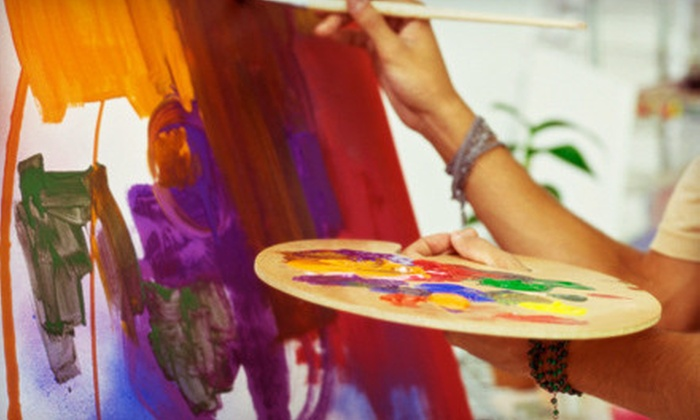 Therapy a Paint and Sip Boutique - Quail Creek: Two-Hour Painting Class for One or Two, or $25 for $50 Worth of Clothing and Gifts at Therapy: A Paint and Sip Boutique