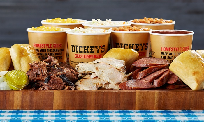 Dickey's Barbecue Pit - Multiple Locations: Barbecue Cuisine, Sides, and Drinks at Dickey's Barbecue Pit