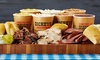 Dickey's BBQ Pit - Multiple Locations: One Family Pack or $21 for Three vouchers, Each Good for $10 at Dickey's BBQ Pit (Up to 30% Off)