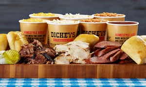 Dickey's Barbecue Pit: $12 for $20 Worth of Barbecue Cuisine, Sides, and Drinks at Dickey's Barbecue Pit