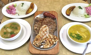 Cafetal: Colombian Dinner for Two or Catering from Cafetal (Up to 47% Off)