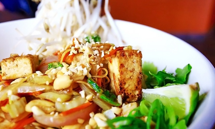 Wok Box - Multiple Locations: Fresh Asian Cuisine for Two or Four at Wok Box (Up to 46% Off)