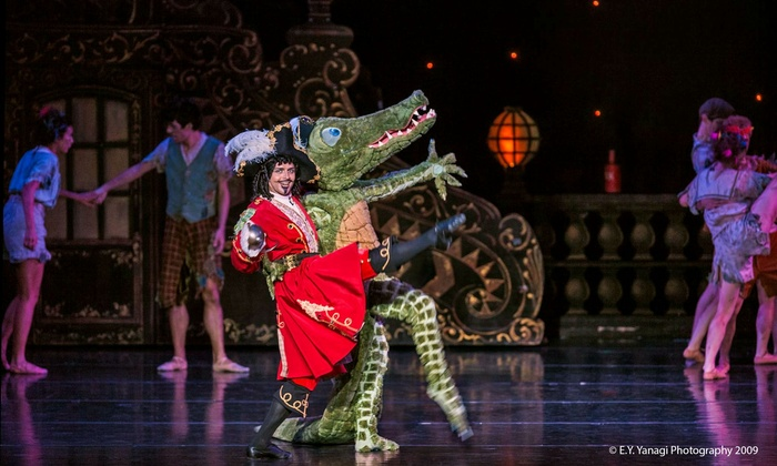 """Peter Pan - Neal S. Blaisdell Center: """"Peter Pan"""" at Blaisdell Concert Hall on Friday, August 8 or Saturday, August 9 (Up to 34% Off)"""