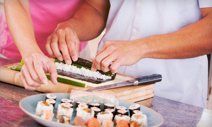 Sushi Bears - Multiple Locations: $39 for a Two-Hour Sushi-Making Class for Two from Sushi Bears ($80 Value)