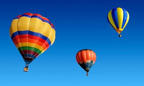 Descuento de hasta 800€ en paseo de globo para 2, 4, 6 u 8 personas con desayuno desde 19€ con Barcelona Balloon Flights