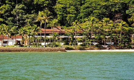 Ilha de Itacuruçá/RJ: 2 ou 3 noites para 2 + pensão completa no Hotel Pierre