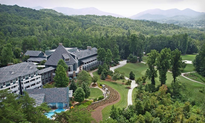 null - Young Harris, GA: One- or Two-Night Stay with Activity or Spa Credit at Brasstown Valley Resort & Spa in Young Harris, GA