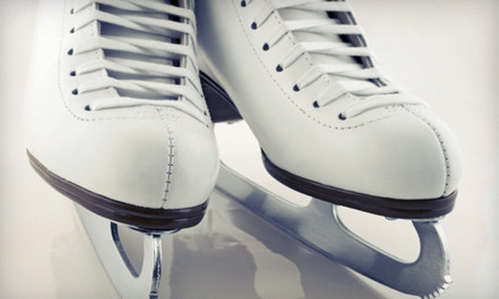 Channel Islands Ice Center - South Bank: Ice-Skating with Rental Skates for Two or Four at Channel Islands Ice Center (Up to 53% Off)