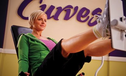 image for 10 Gym Visits or One-Month Membership at Curves (Up to 75% Off)