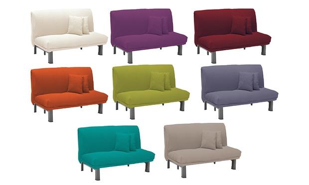 Poltrona o divano letto groupon goods for Divano due posti economico