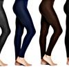 Women's Seamless Full-Length Fleece Leggings (2-Pack)