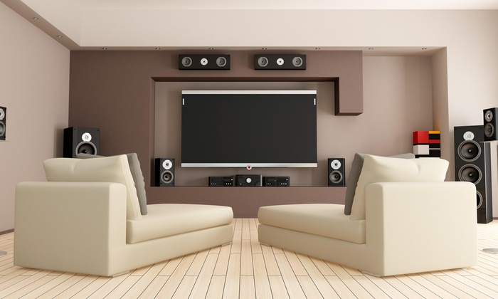 HDS INSTALLATION - Hartford: Home-Theater Installation with 5.1 Speaker System from HDS INSTALLATION (45% Off)