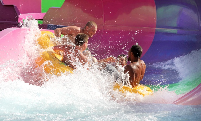 Magic Waters Waterpark - Magic Waters: Water-Park Visits with Tube and Locker Rental for 2 or 4 at Magic Waters Waterpark (Up to 57% Off)