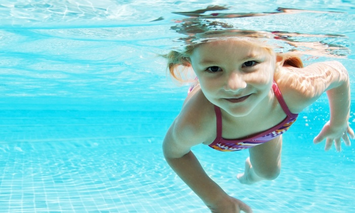 British Swim School - Multiple Locations: $95 for One-Month of Twice-Weekly Group Swim Lessons at British Swim School ($217 Value)
