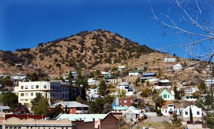 groupon daily deal - 1- or 2-Night Stay at The Bisbee Inn/Hotel La More in Bisbee, AZ
