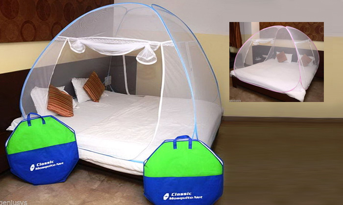 Rs.999 for a Kawachi Folding Mosquito Net for Double Bed