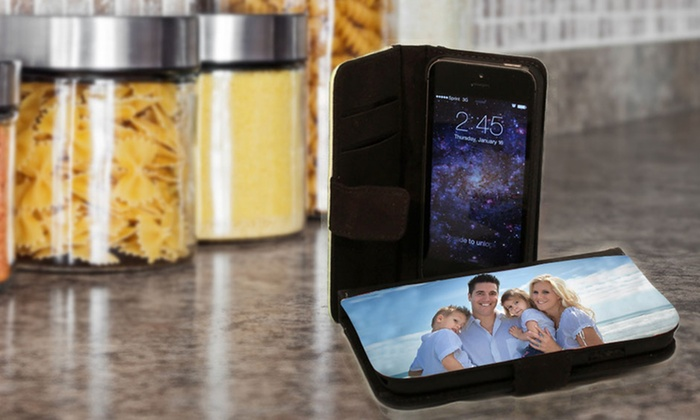 Custom Smartphone Wallet Case: Custom Phone Wallet Case from Picture It On Canvas. Multiple Models from $16.99–$23.99.