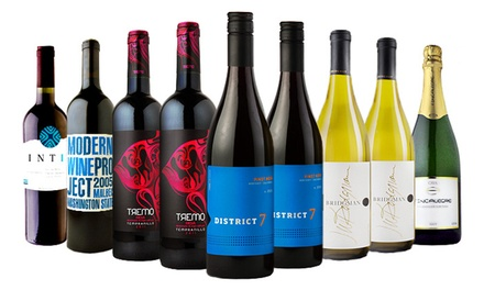 Curated Premium Wines Delivered from Heartwood & Oak (Up to 67% Off). Two Options Available.