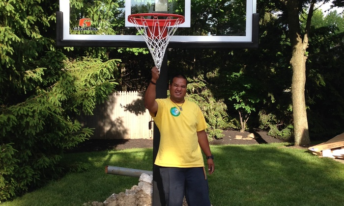 Building Blocks Installations Inc - Cleveland: $247 for $449 Worth of Basketball Hoop Removal — Building Blocks Installations Inc