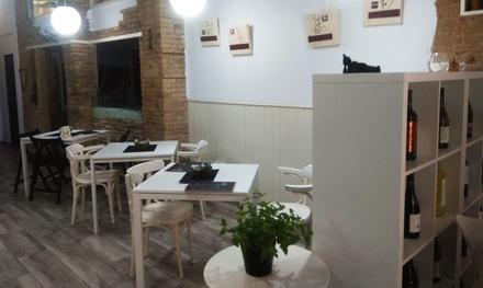 Tablas, sartenes o panottes con entrantes, bebidas y postres para 2 o 4 personas desde 16,90 € en Zenchef Ibérico