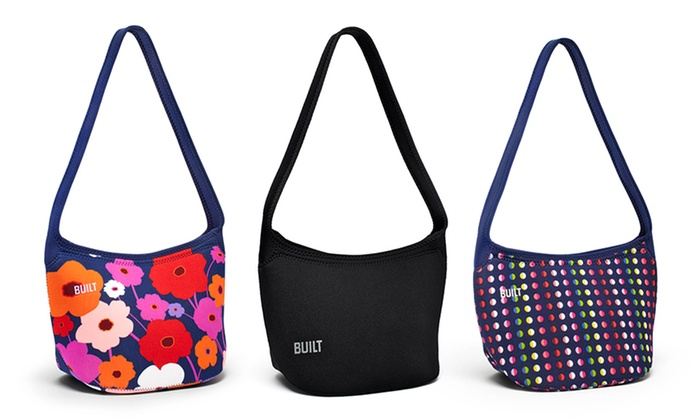 BUILT Hobo Shoulder Lunch Tote: BUILT Shoulder Lunch Tote