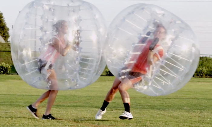 Knockerball Port Saint Lucie - McChesney Park: Pick-Up Bubble Soccer Game for Two or Four from Knockerball Port Saint Lucie (Up to 50% Off)