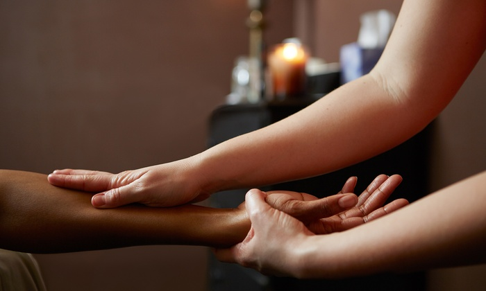 Spa massage  Massage, Mani-Pedi, Facial, Wine - Spa Logic | Groupon