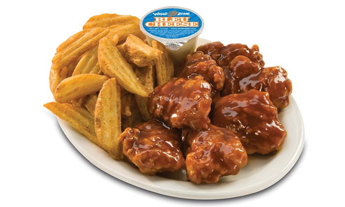 Wing Zone - Smyrna - Smyrna: Chicken Wings, Burgers, Wraps, Tenders, and Fried Shrimp at Wing Zone (47% Off). Two Options Available.