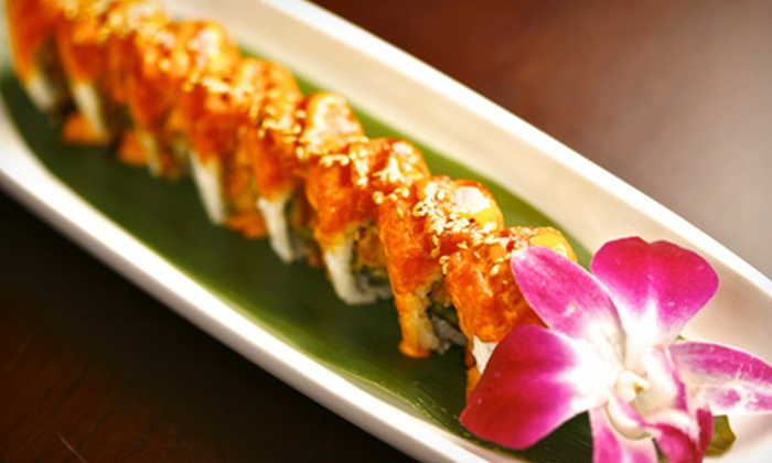 Makiman Sushi - Multiple Locations: $15 for $30 Worth of Japanese Fare at Makiman Sushi. Two Locations Available.