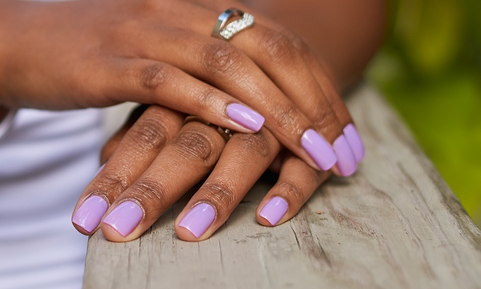 Luxe SEVEN - Bach: One or Two Shellac Manicures at Luxe SEVEN (Up to 57% Off)