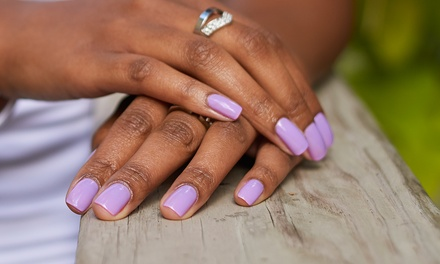 One or Two Shellac Manicures at Luxe SEVEN (Up to 50% Off)