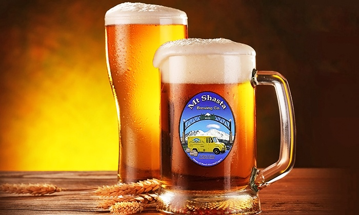 Mount Shasta Brewing Company - Weed: $24 for a Beer Tasting and a Filled Weed Growler at Mount Shasta Brewing Company ($45 Value)