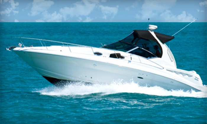 The Boat Fleet - Lake Colony Apartments: $99 for a Half-Day Rental of Up to 22-Foot Boat from The Boat Fleet ($199 Value)