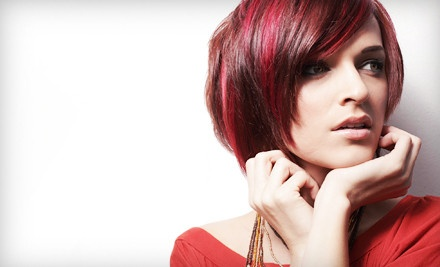 Cut and Deep Conditioning with Options for Partial or Full Highlights at Reveal Salon and Spa (Up to 53% Off)