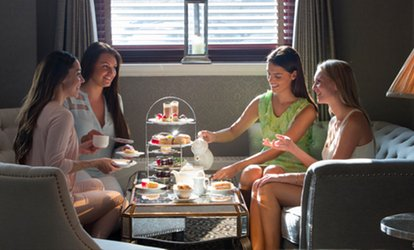 image for Afternoon Tea with Prosecco for Two or Four at Hilton Watford Hotel (Up to 54% Off)