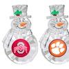 NCAA Snowman Ornament