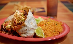 The Burrito Company: $15 for $25 Worth of California-Style Mexican Food for Two or More at The Burrito Company