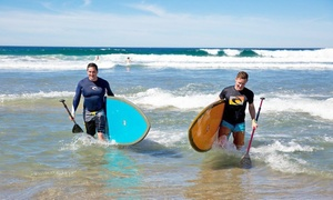 Mission Beach Rentals: Full-Day Rental of Bike, Inline Skates, Paddleboard, or Foam Surfboard at Mission Beach Rentals (Up to 52% Off)