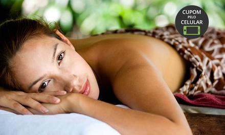 Clínica Romana – Asa Norte:1, 2 ou 3 visitas com massagem relaxante, esfoliante com toalhas mornas e terapia bioquântica