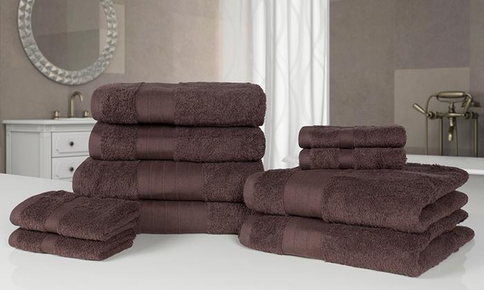 10er set gyptischer handt cher groupon goods. Black Bedroom Furniture Sets. Home Design Ideas