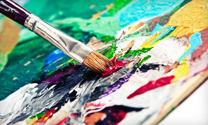Creative Juice - Ward 2: Painting Class for One or Two with Supplies and a Complimentary Wine, Beer, or Soda at Creative Juice (Up to 59% Off)