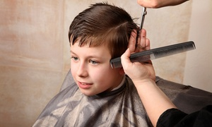 Cynthia's Love of Hair: Haircut with Wash and Blow-Dry for Kids Under 12 or Aged 12–16 at Cynthia's Love of Hair (Up to 58% Off)