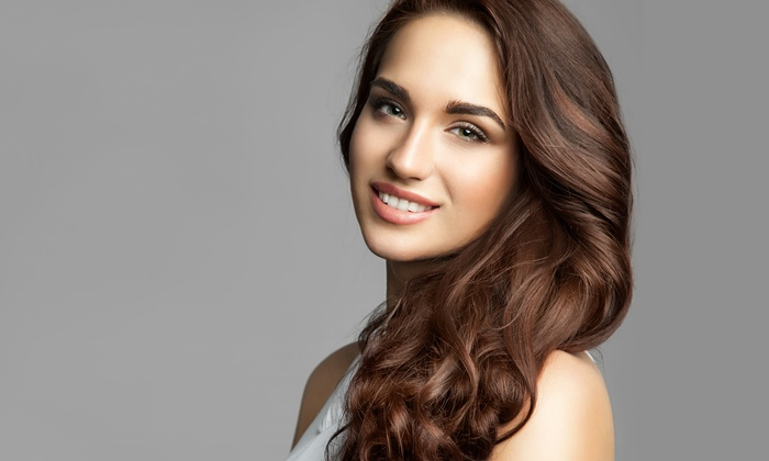Glam Hour - West Bay Shore: Keratin Treatment or Blowout with Deep Conditioning-Treatment, Highlights, or Color at Glam Hour (Up to 60% Off)