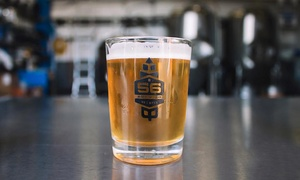 56 Brewing: $32 for a Tasting Package for Two with Two 750ml Growlers and Pint Glasses at 56 Brewing ($57.12 Value)