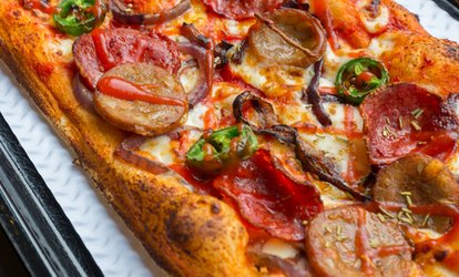 image for Choice of Pizza with Optional Glass of Wine or Beer for Two or Four at At Pizza (Up to 48% Off)